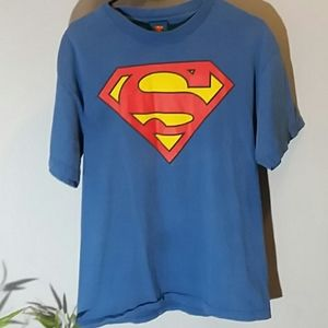 Vintage Superman t shirt size large